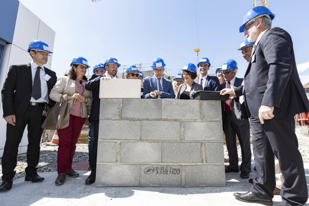 BHT2 foundation stone: a successful event!