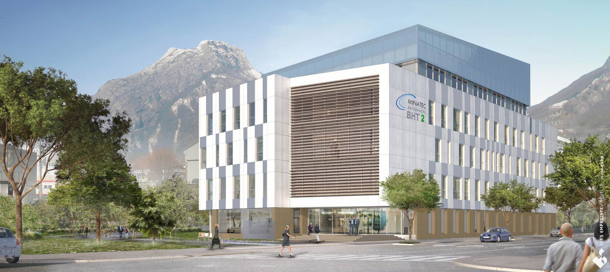 MINATEC Entreprises High-Tech Buildings in Grenoble